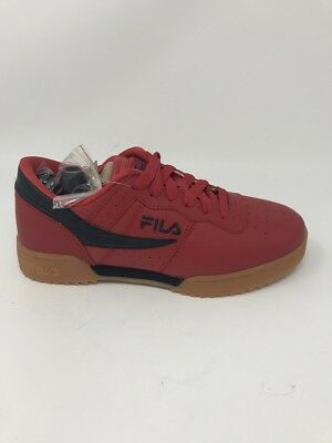 e1eff8b49334 Men s Fila Retro Original Fitness Ripple Red Navy Gum 1FM00008-941 Brand New