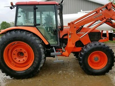 2008 KUBOTA M125X 4X4 TRACTOR LOADER $$36k cash local sale$$ New Tires