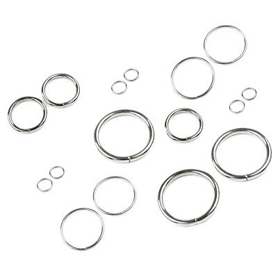 12 20 25 30 35mm O Rings Metal Collars Buckles Straps Dog Leads Leather Clothing