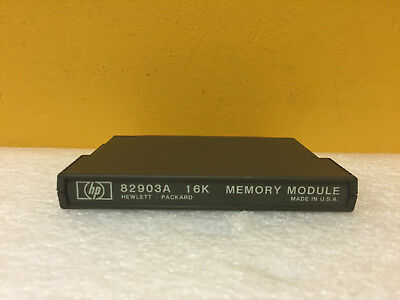 HP / Agilent 82903A 16K Memory Module. For 85, 86, 87 Computers + Peripherals