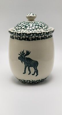 """Tienshan """"Moose Country"""" Medium Canister 6 5/8"""" to rim"""