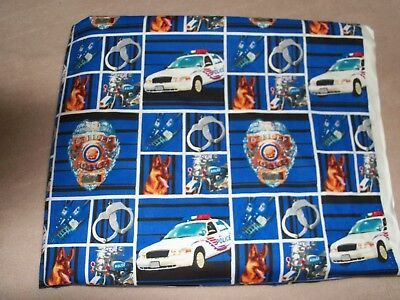 Police Cars & Handcuffs Travel Pillow Case