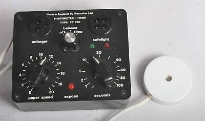 Massodax Photometer Timer PT250 Darkroom