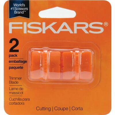 Paper Trimmer Replacement Blades 2/Pkg - Straight, Style G - Fiskars