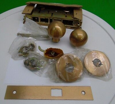 corbin Brass ball knob Mortise Door Knob Lock Set Front Door ...