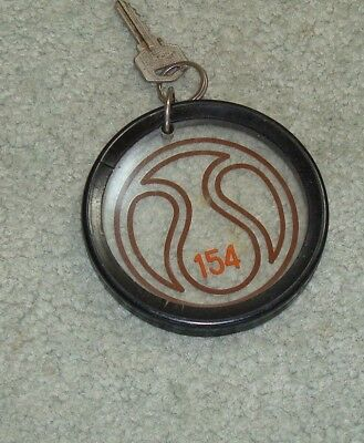 Vintage Hotel Key- from a hotel in Marbella , S[ain