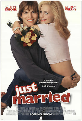 Just Married 2002 27x40 Orig Movie Poster FFF-71059 Rolled Fine, Very Fine