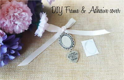 Bouquet Memory Memorial Frame Charm Photo Bride Wedding Flower With Cover