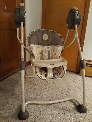 Safety First Baby Swing- Disney's Winnie The Pooh