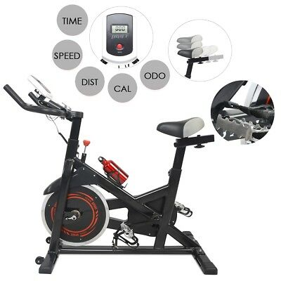 Spinning Bike Exercise Stationary Pro Bicycle Cardio Cycling Training Gym Indoor