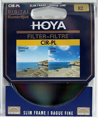 82mm  Hoya Circular Polarizing CIR-PL CPL FILTER for Canon Sony Nikon Lenses
