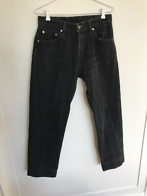 Levi's (Levi Strauss & Co) 555™️ Washed Black Jeans Size 11