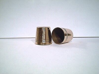 1 brass cane tip highly polished for walking stick many sizes U pick 1 PLZ READ