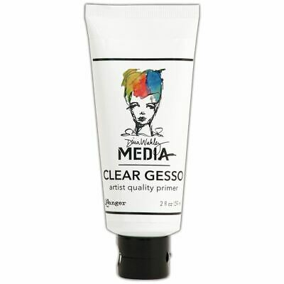 Gesso 2Oz Tube - Clear - Dina Wakley Media