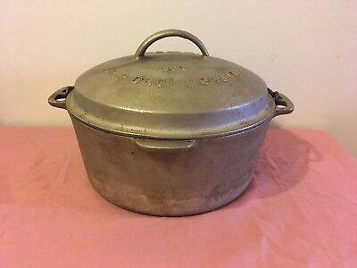 Vintage Wagner Ware Cast Iron Drip Drop Roaster No.8