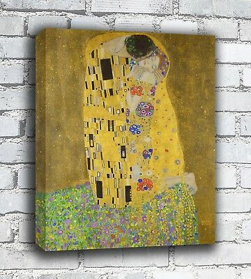 The Kiss - Gustav Klimt - Canvas