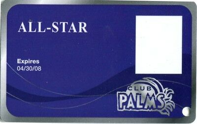 Las Vegas Palms Casino All Star Slot Card #4