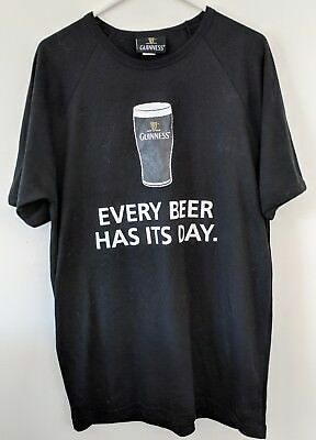 Guiness Vintage 2010 St. Patricks Day T Shirt - New XL