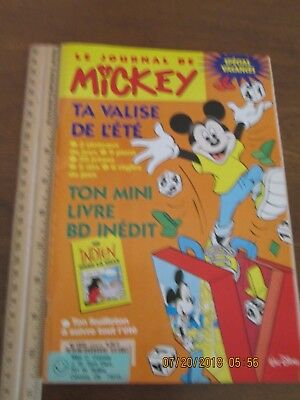 Mickey Mouse Comic Book in French!