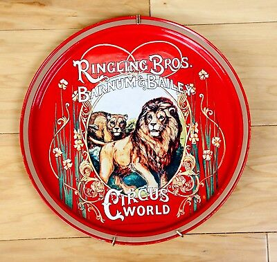 Ringling Brothers Barnum and Bailey Circus Metal Collector's Plate