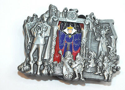 Disney Pin Trading Snow White's Scary Adventures Evil Queen Stained Glass Window