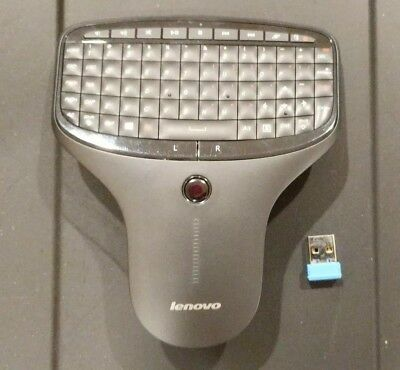 Lenovo Multimedia Remote with Keyboard, Non-Backlit Version - N5902 - USED
