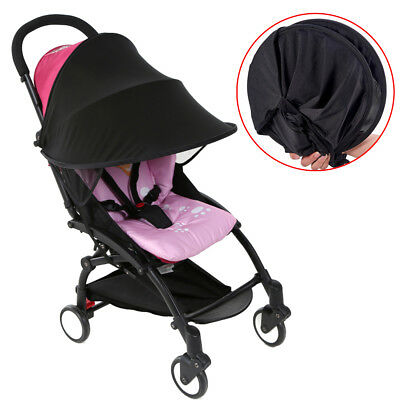 1pc Kids Baby Stroller Black Rag Anti UV Shade Sun Rays Protective Awning Cover
