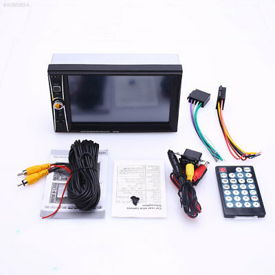 "HD 1080P 7"" 2Din Bluetooth Car Kit TF FM MP5 Audio Video Player With Rear Camera"