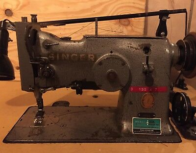 Singer Industrial ZigZag and Staight Stitch Sewing Machine •Needs Work