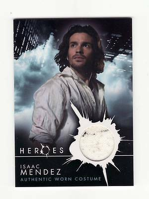 HEROES TV Series Pieceworks Prop Card Isaac Mendez Clothing Piece Paint