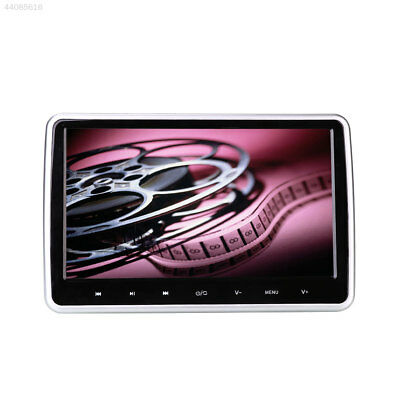 """10.1"""" HD LCD Car Auto Headrest Monitor DVD/CD/USB/SD Player Support TF Card"""