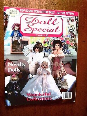 Doll Special Magazine No. 2  Patterns Unused And Still Attached
