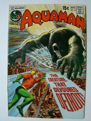 Aquaman #56 Jim Aparo Cover & Interior Art & 1st Crusader Appearance 1971 FN/VF