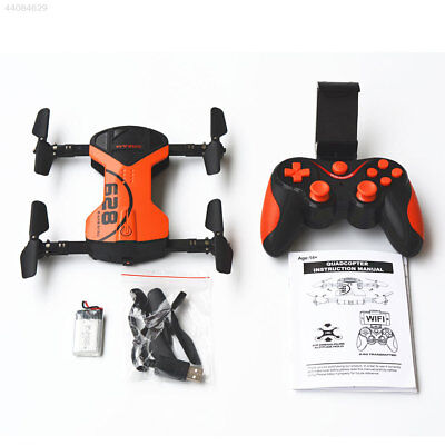 Foldable FPV 2.4Ghz 4 Axis HD 720P Real Time Wifi Camera Drone Helicopter