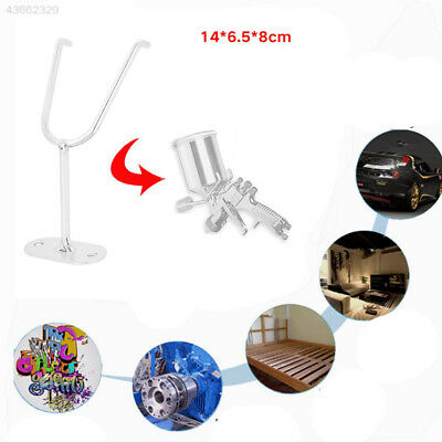 Holder Alloy Hook Support Gravity Feed Paint Sprayer Silver High Quality Mini