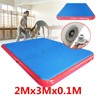 3x2m AirTrack Inflatable Air Track Tumbling Floor Home Gymnastics Yoga Mat GYM
