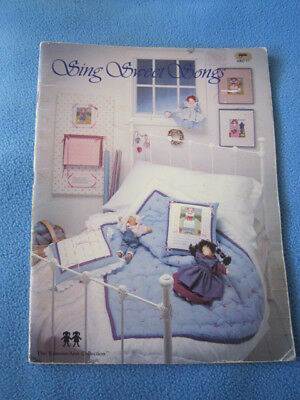 Sing Sweet Songs Dolls To Sew And Cross Stitch The Vanessa Ann Collection