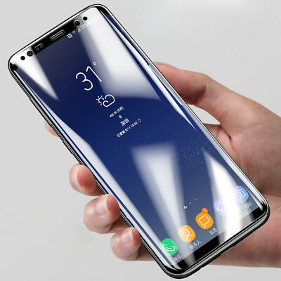 Full Cover Premium Tempered Glass Screen Protector Film For Samsung Note 9 8 LOT