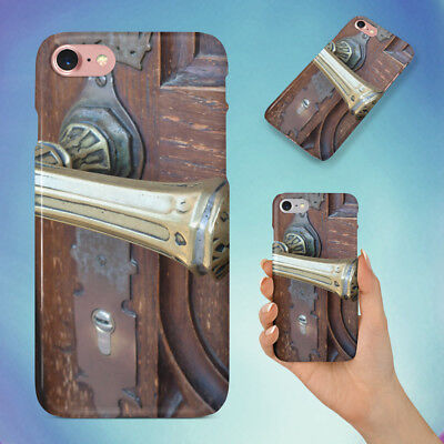 Ancient Antique Brass Door Hard Back Case For Apple Iphone Phone