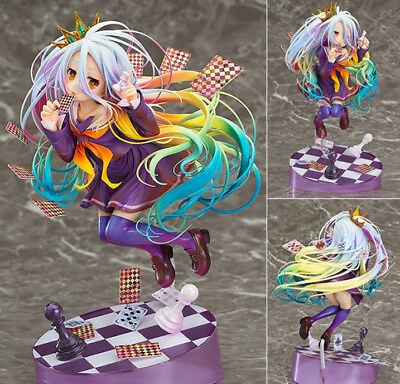 Hot Serie NO GAME NO LIFE Shiro 1/8 Scale Anime Manga Figure Figuren H:19cm Box