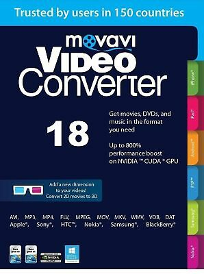 Movavi Video Converter *NEW*, Portable, instant delivery, Multilingual, READ