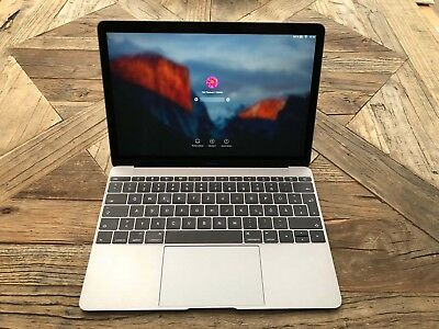 Apple MacBook Space Gray 512 GB 12 Zoll Laptop - MLH82D/A mit OVP