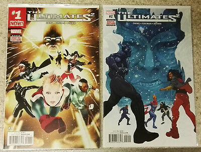 (Marvel) The Ultimates 2 #1 #2 #3 #4 #5 #6 #7 #8 #9 #100 Black Panther [2017]
