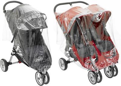 Baby Jogger RAINCOVER CITY MINI SINGLE/DOUBLE RAINCOVER Baby Travel BNIB