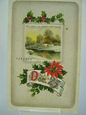 Postcard post used embossed December 25th 1915 Canada              189