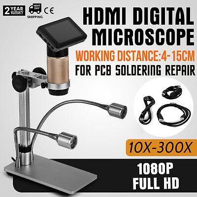ADSM201 Digital Microscope For PCB Soldering Repair 30fps 5V DC LCD3.0 EXCELLENT
