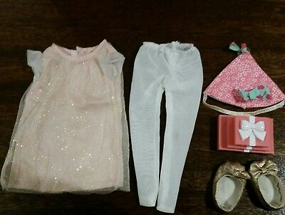 Our Generation Birthday Surprise Deluxe Outfit - fits American girls - exc cond