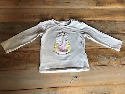 Seed Owl Top Size 18-24 Months