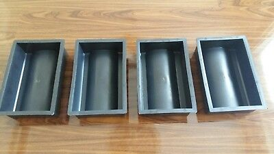 *set Of 4*plastic Rain Drainage Channel Concrete Paving Mould Slab Floor Tile