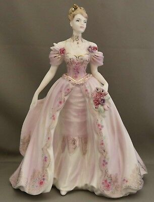 "Coalport Figurine  ""The Fairytale Begins"" - Limited Edition - English Bone China"